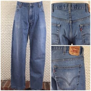 Levi's 550 Relaxed Fit Sz 40x34